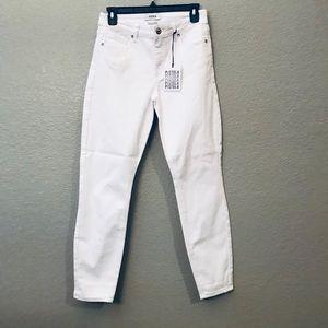 Pistola white OSLO denim Skinny Jeans 27 NWT NEW